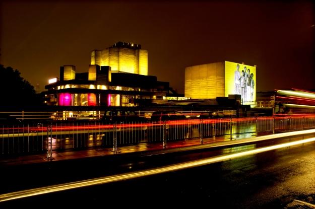 AVIVA LONDON - NATIONAL THEATRE FROM WATERLOO BRIDGE